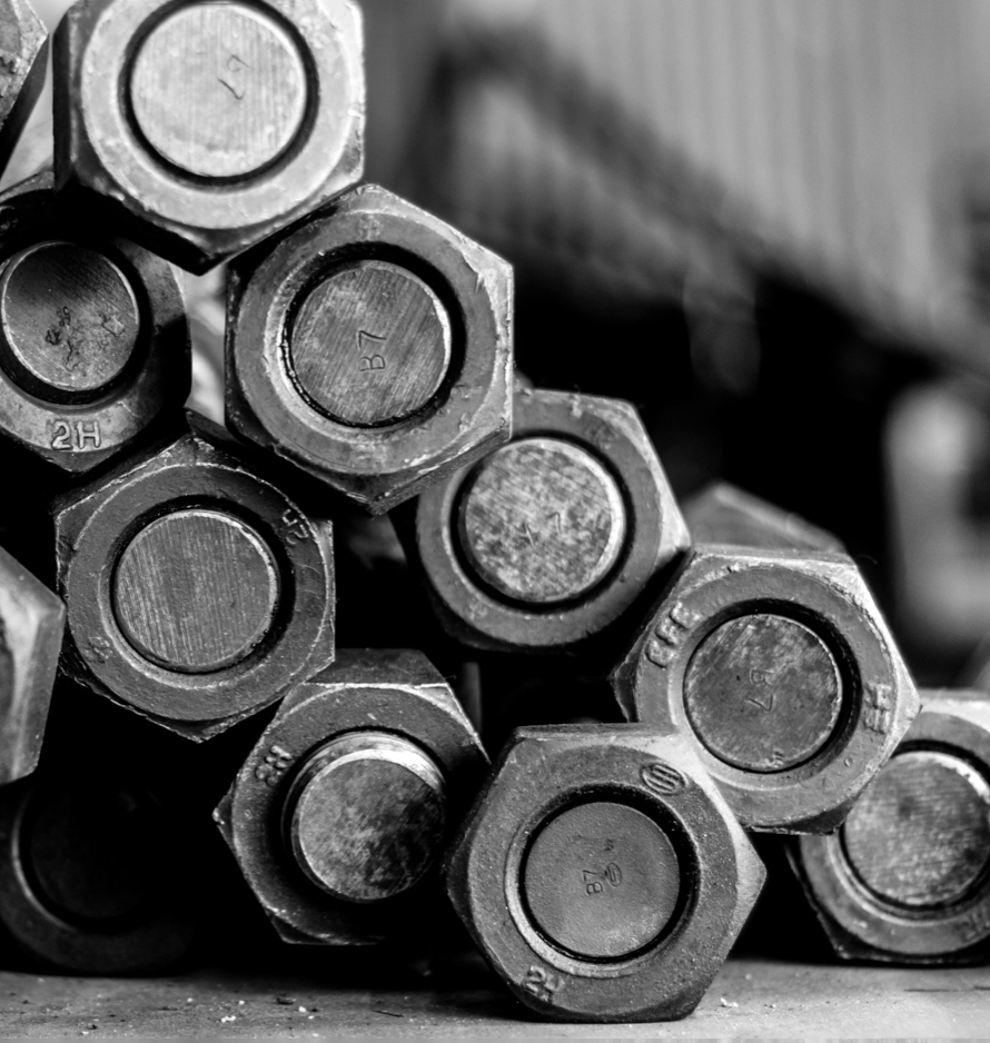 Machined Steel Bolts