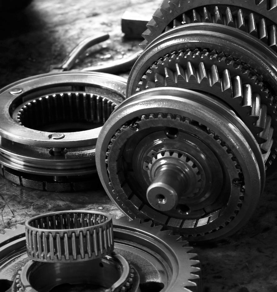Machined Steel Gear