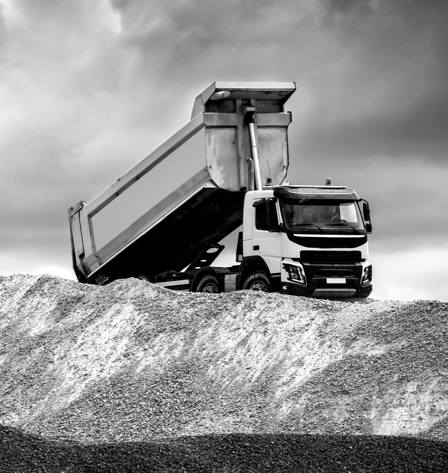 Steel Dump Truck Bed