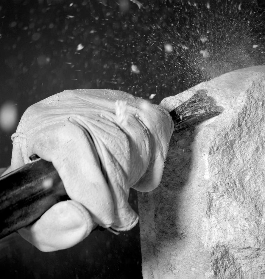 Craftsman Chipping Stone